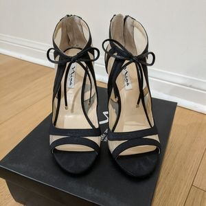 Nina New York Black Cherie Heels